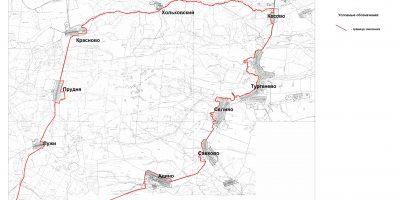 Меленковский карта